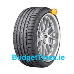 Continental 225/40/18 Sport Contact 3 92W XL