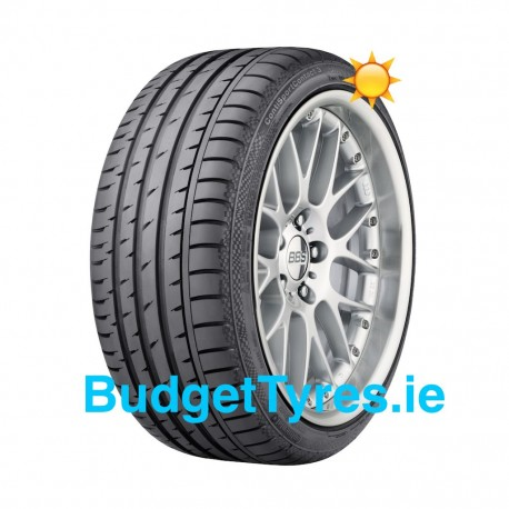 Continental 255/40/19 Sport Contact 5 96W Runflat